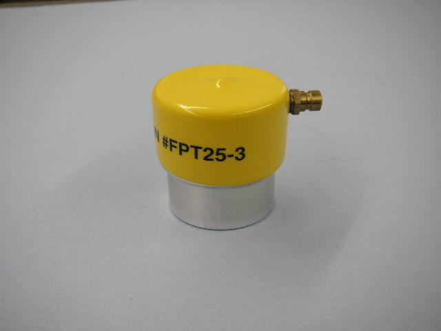 Waekon gas cap adapter - Yellow
